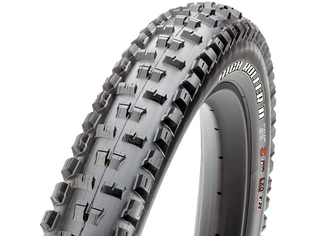 Maxxis HighRoller II+ Folding Tire TR EXO 3C MaxxTerra, black